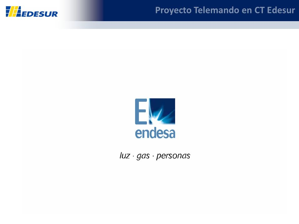 17 Proyecto Telemando en CT Edesur