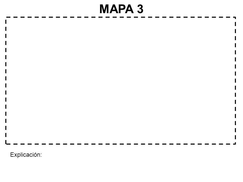 MAPA 3 Explicación:
