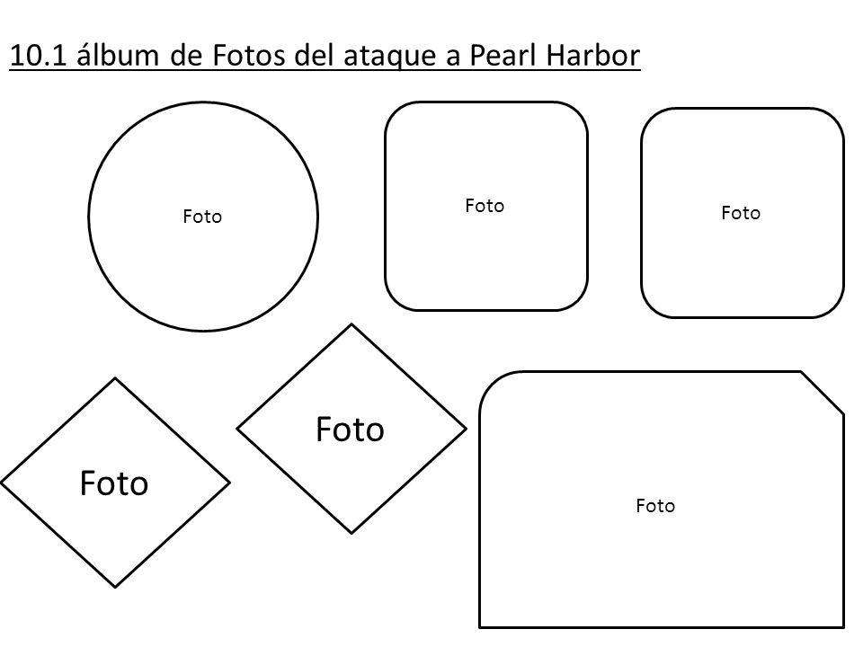10.1 álbum de Fotos del ataque a Pearl Harbor Foto