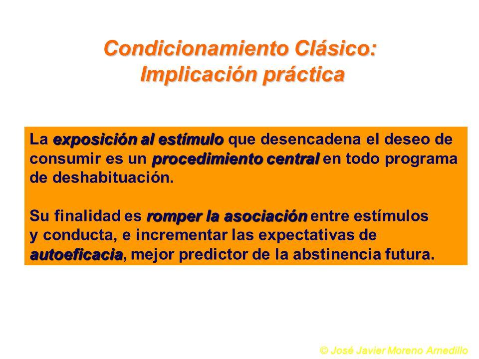 exposición al estímulo La exposición al estímulo que desencadena el deseo de procedimiento central consumir es un procedimiento central en todo progra