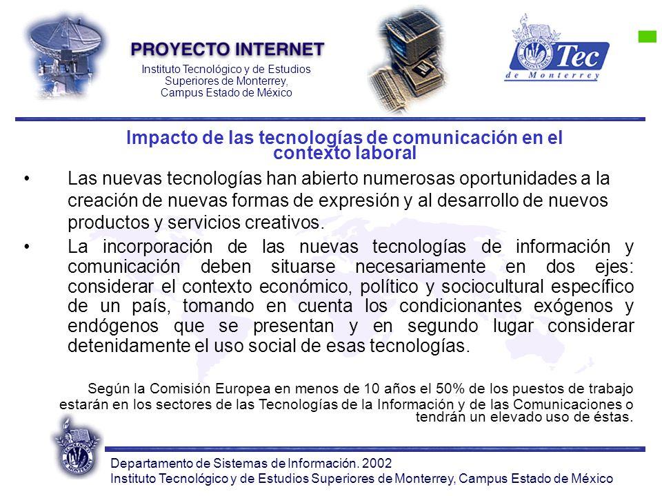 Departamento de Sistemas de Información.