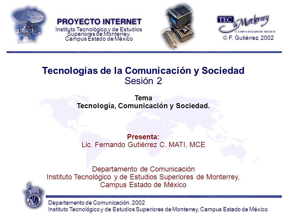 Departamento de Comunicación.