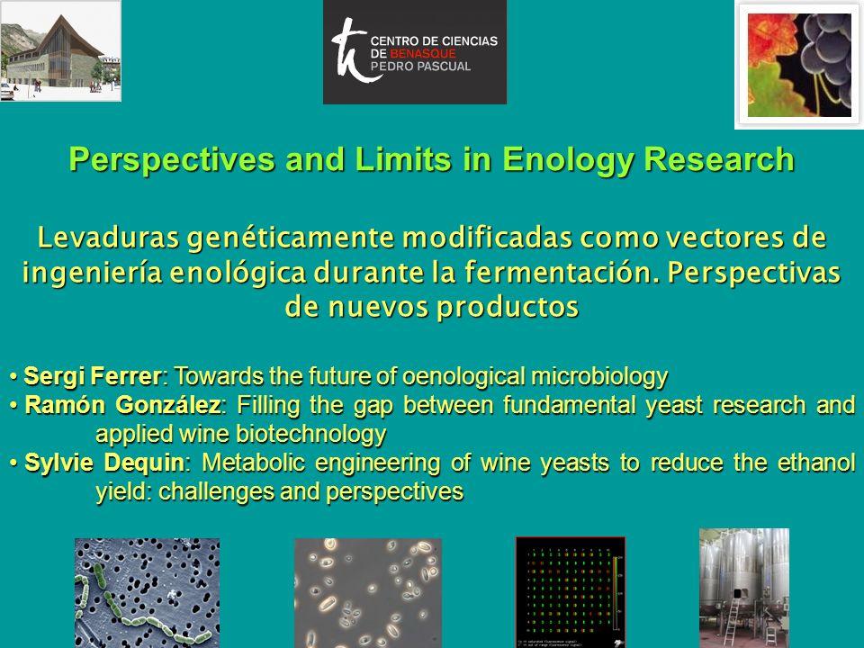 Perspectives and Limits in Enology Research Levaduras genéticamente modificadas como vectores de ingeniería enológica durante la fermentación. Perspec