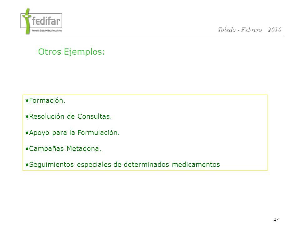 28 Toledo - Febrero 2010 1.La Distribución Farmacéutica en España 2.Modelo Solidario de Distribución.