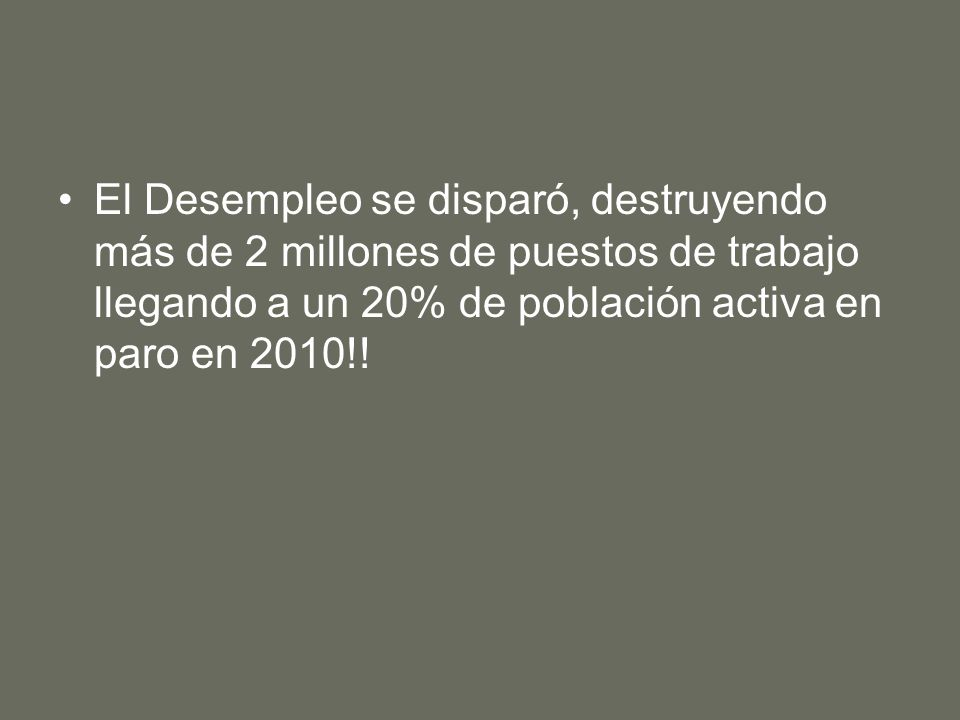 RENTA PER CÁPITA () (FUENTE: FMI 2013)