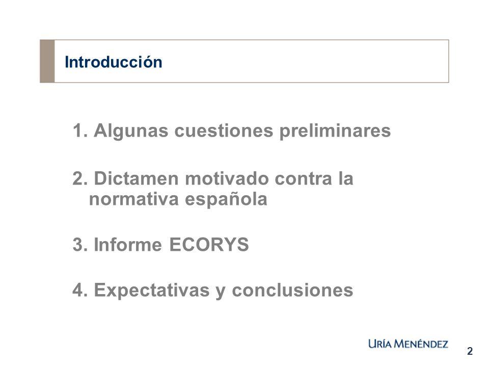 2 Introducción 1. Algunas cuestiones preliminares 2.