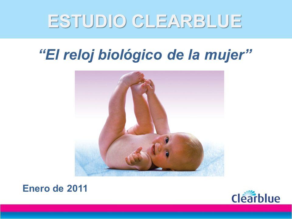 ESTUDIO CLEARBLUE ESTUDIO CLEARBLUE El reloj biológico de la mujer Enero de 2011