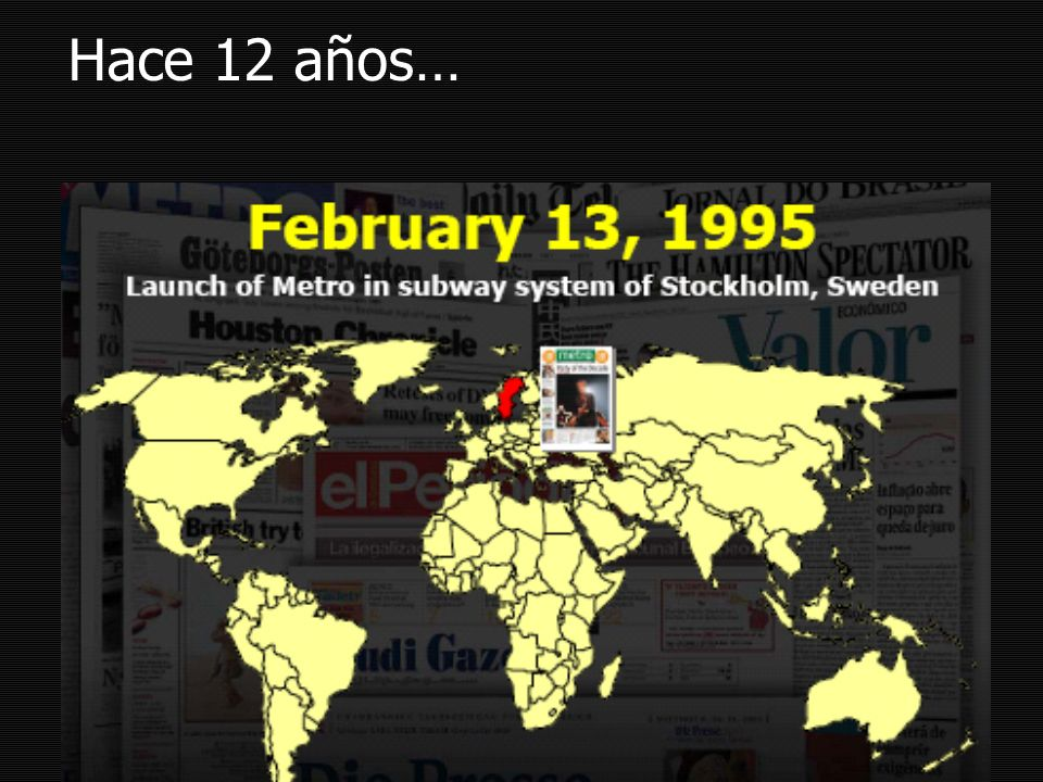 Hace 12 años…