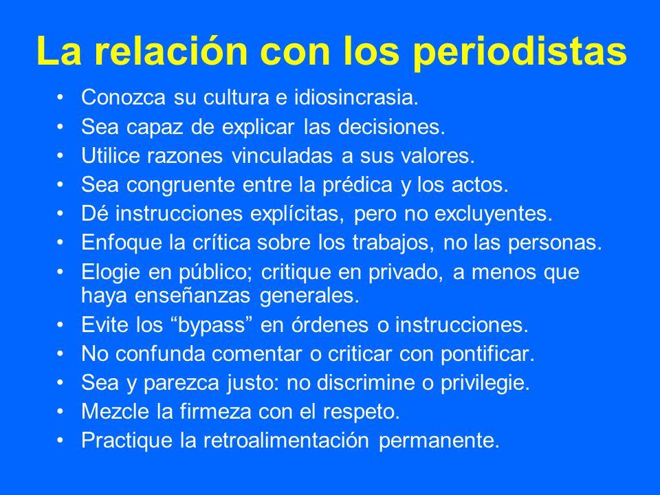 La relación con otras instancias Conozca la organización: sus valores, cultura, tradiciones.