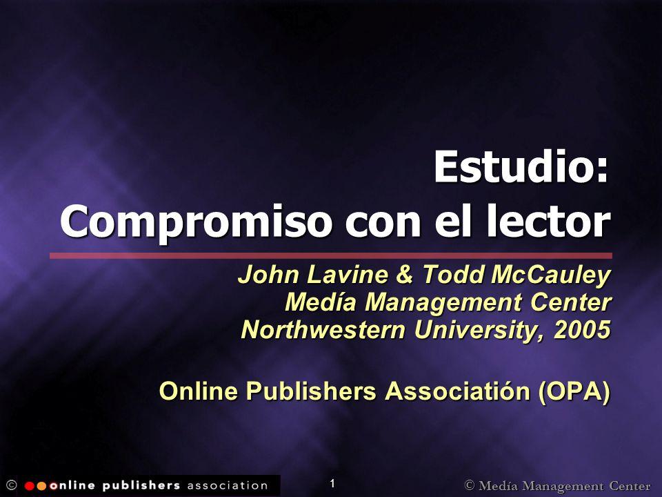 © Medía Management Center © 22 P1.Cuáles son las experiencias.