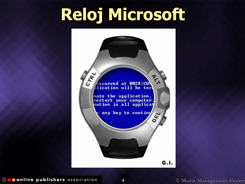 © 4 Reloj Microsoft