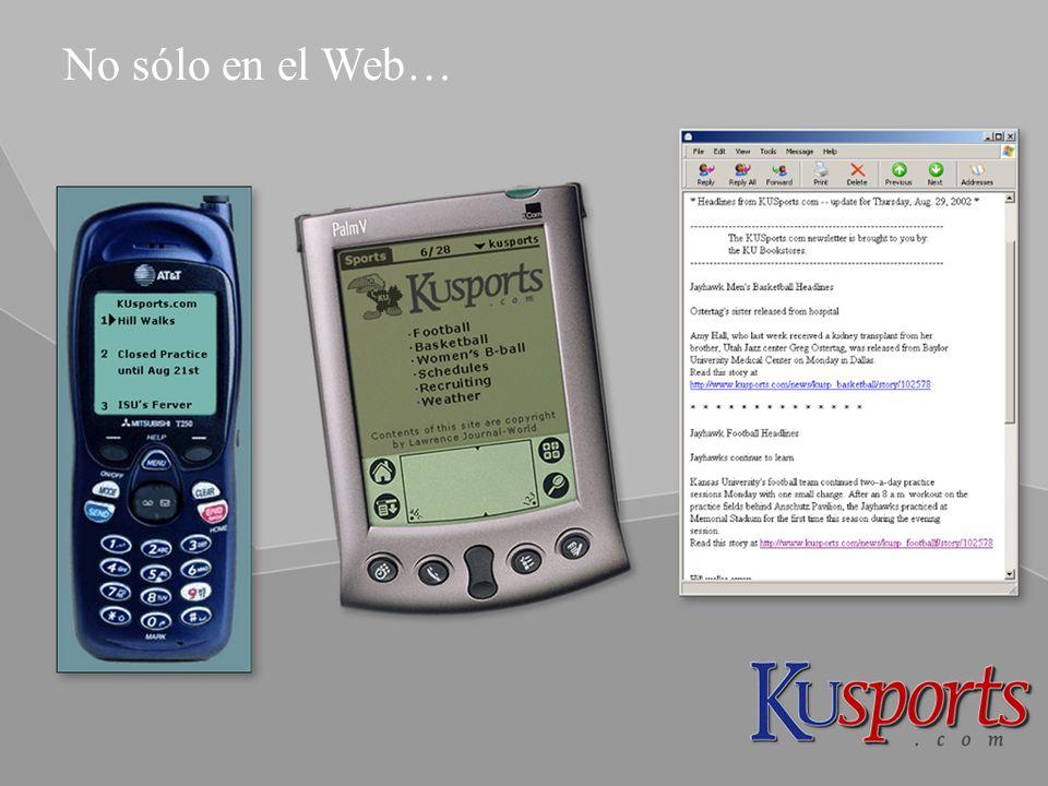 © 7 No sólo en el Web…
