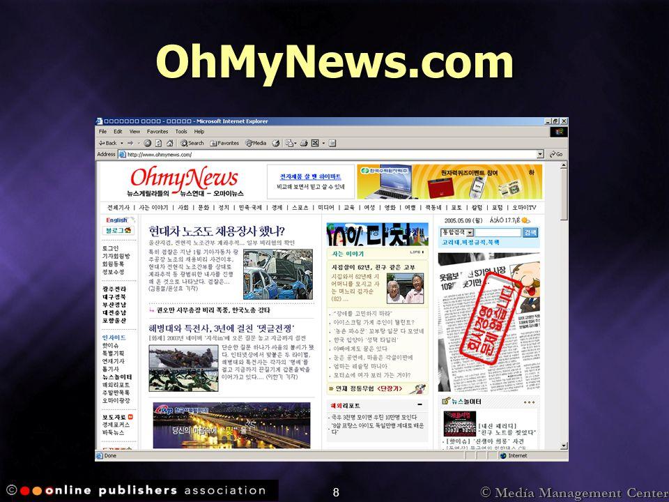 © Medía Management Center © 49 Entusiasmado por los anuncios Cliqueo los anuncios de este sitio con más frecuencia que los anuncios en otros sitios.Cliqueo los anuncios de este sitio con más frecuencia que los anuncios en otros sitios.