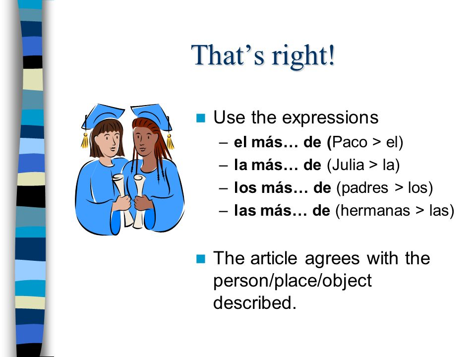 And in Spanish. Take a look at some examples in Spanish.