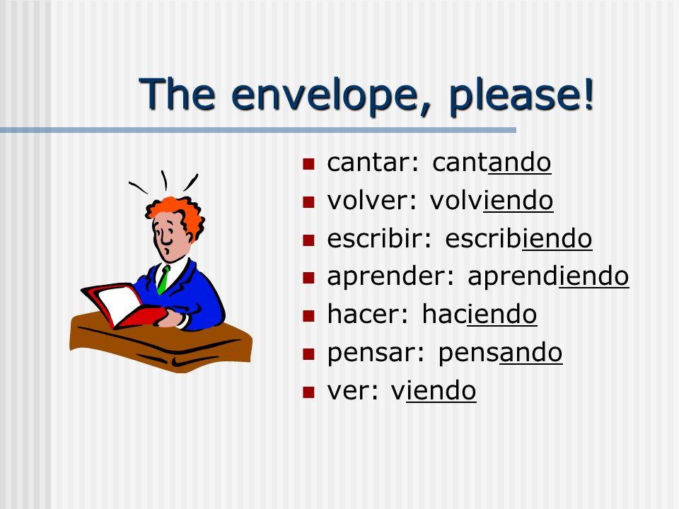 The envelope, please.