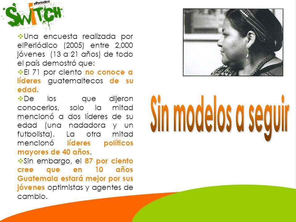 La última encuesta nacional del Ministerio de Educación reveló que únicamente 1 de cada 100 guatemaltecos lee un libro al año.