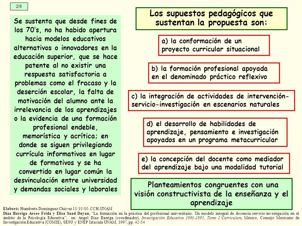 Elaboró: Humberto Domínguez Chávez 11/10/00.
