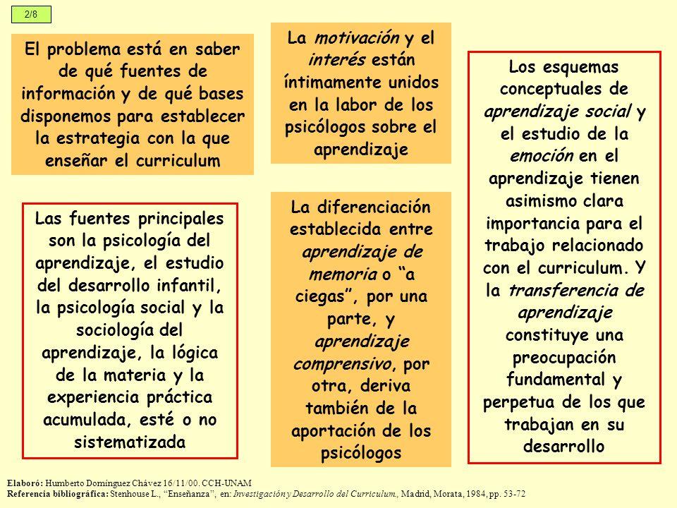 3/8 En el planteamiento de Piaget no son las normas de desarrollo correspondientes a la edad lo que importa sino la secuencia, lo que indica la construcción de una lógica, por parte del niño, para enfrentarse con su realidad Elaboró: Humberto Domínguez Chávez 16/11/00.