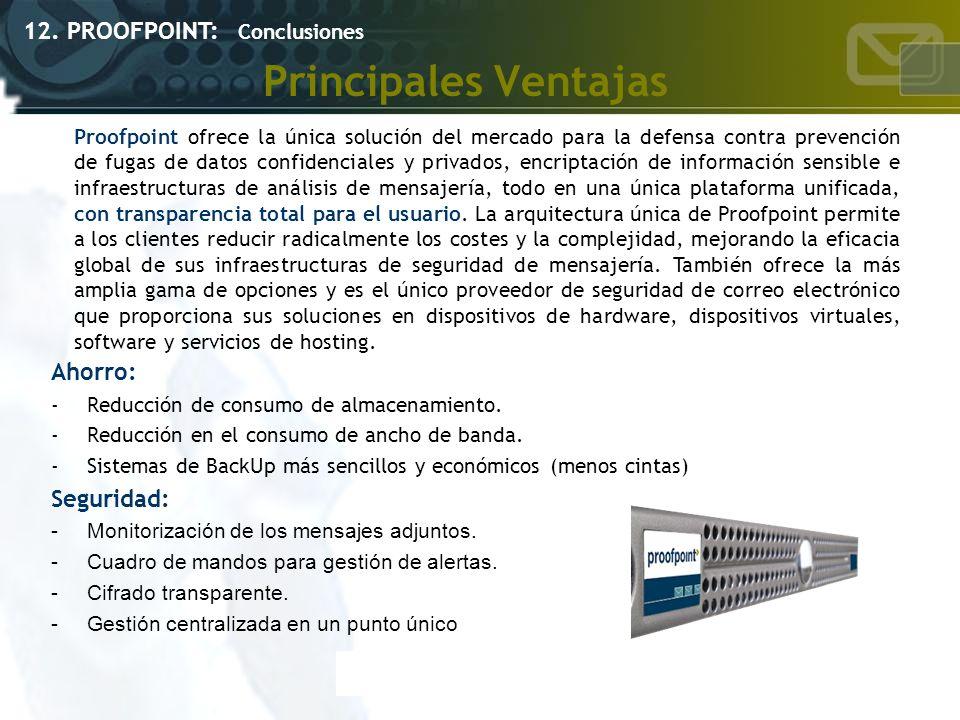 Principales Ventajas Ahorro: -Reducción de consumo de almacenamiento. -Reducción en el consumo de ancho de banda. -Sistemas de BackUp más sencillos y