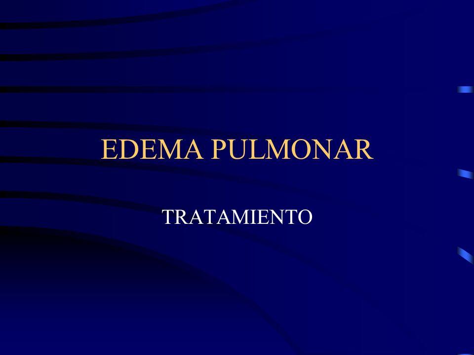 CLASIFICACION DESEQUILIBRIO DE LAS FUERZAS DE STARLING A- AUMENTO DE LA PRESION DE CAPILAR PULMONAR 1-AUMENTO DE P.Venosa.P, SIN INSUFICIENCIA VENTRICULAR IZ.
