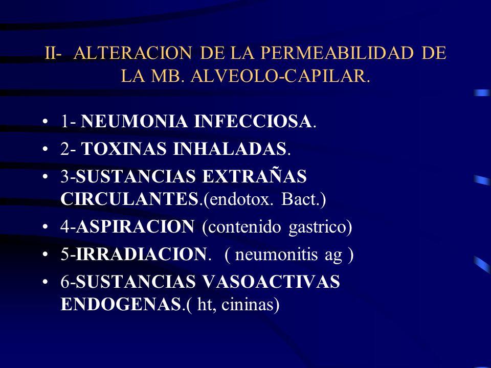 7- CID 8- TRASTORNOS INMUNITARIOS:NEUMONITIS POR HIPERSENSIBILIDAD, FARMACOS.