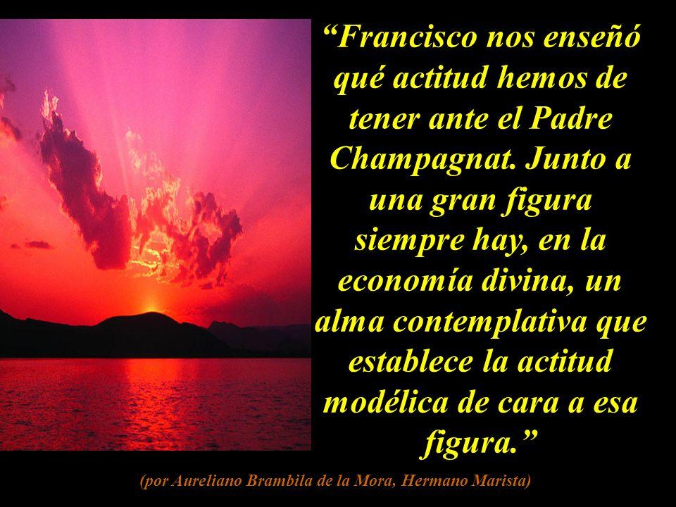 Francisco fue la versión laical de Marcelino.