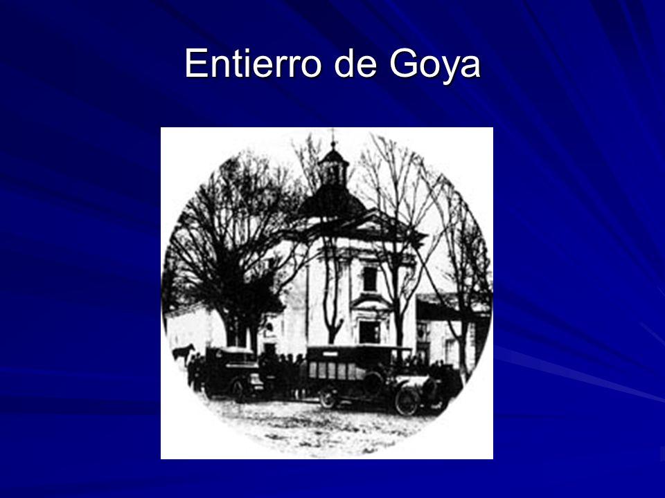 Entierro de Goya