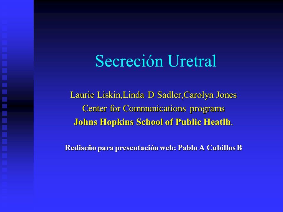 Secreción uretral