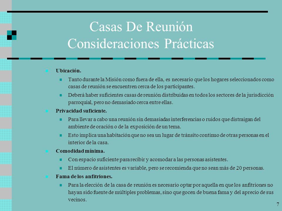 7 Casas De Reunión Consideraciones Prácticas Ubicación.