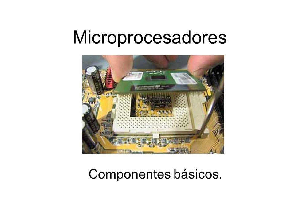 Microprocesadores Componentes básicos.
