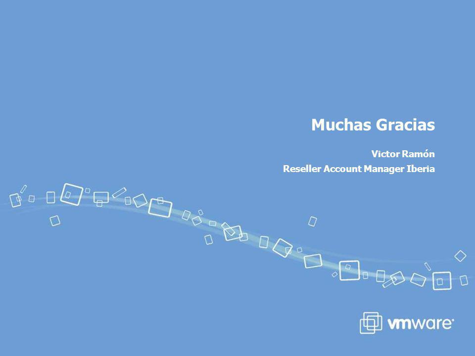 Muchas Gracias Victor Ramón Reseller Account Manager Iberia