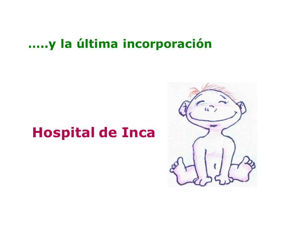 …..y la última incorporación Hospital de Inca