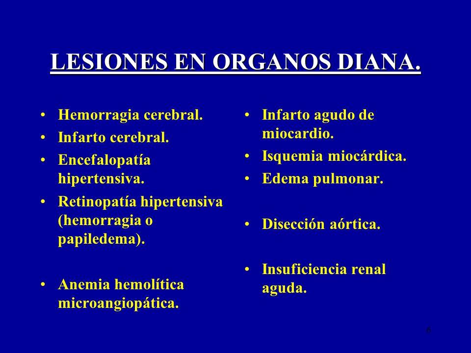 7 EMERGENCIAS HIPERTENSIVAS.Encefalopatía HTA.