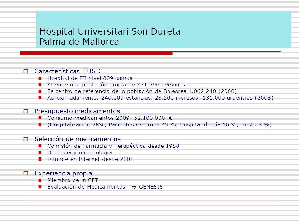 Características HUSD Hospital de III nivel 809 camas Atiende una población propia de 371.596 personas Es centro de referencia de la población de Balea