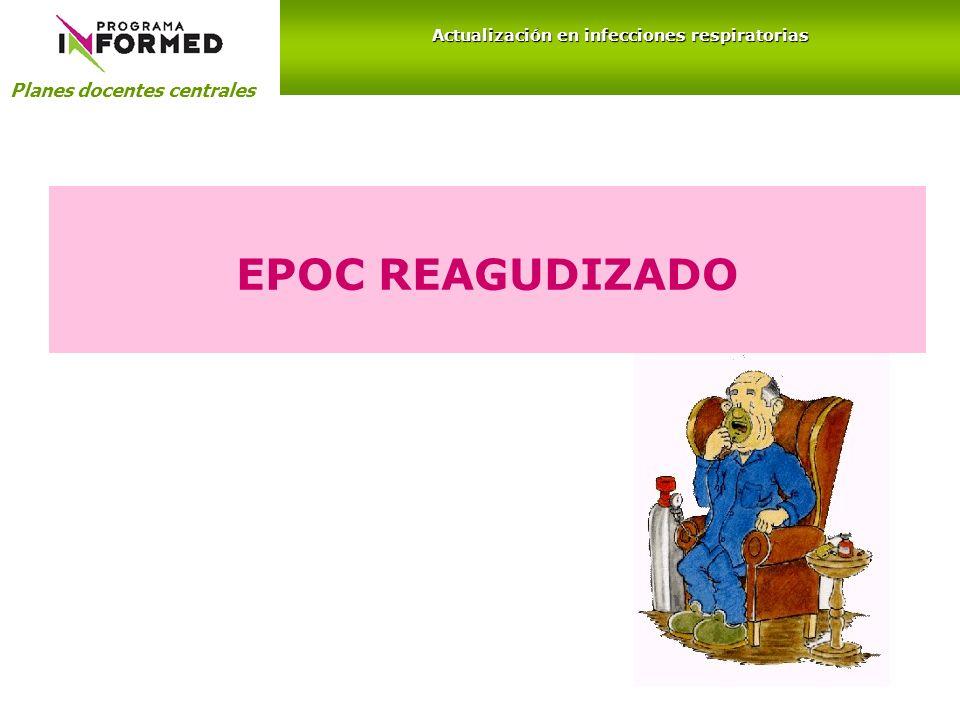 Planes docentes centrales Actualización en infecciones respiratorias EPOC REAGUDIZADO