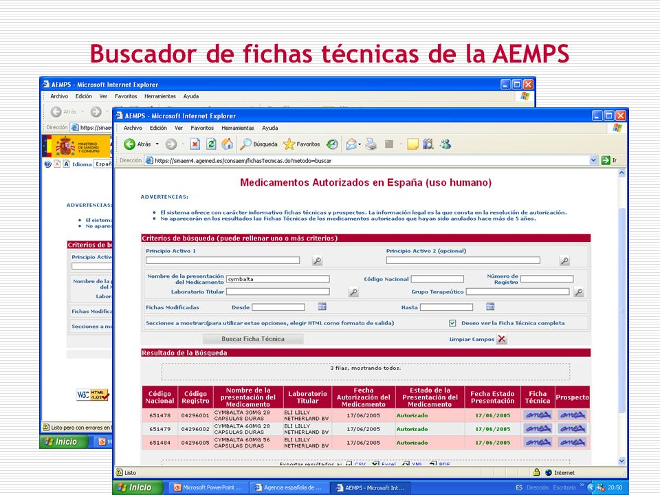 Algo más que la ficha técnica: el dossier de autorización de la EMEA (EPAR)