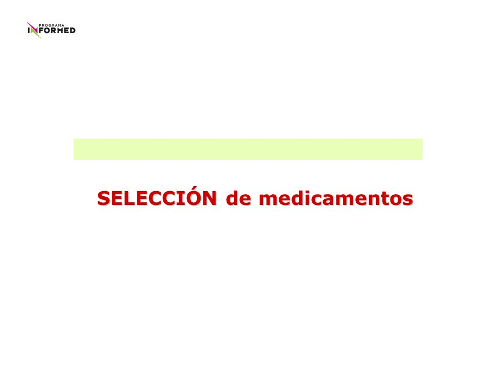clínicas 1- MEDICAMENTOS EQUIVALENTES TERAPÉUTICOS metodológicas gestión