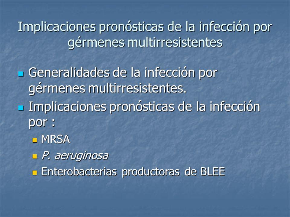 Mortalidad, bacteriemia y shock Severe community-onset pneumonia in healthy adults caused by methicillin-resistant Staphylococcus aureus carrying the Panton-Valentine leukocidin genes.