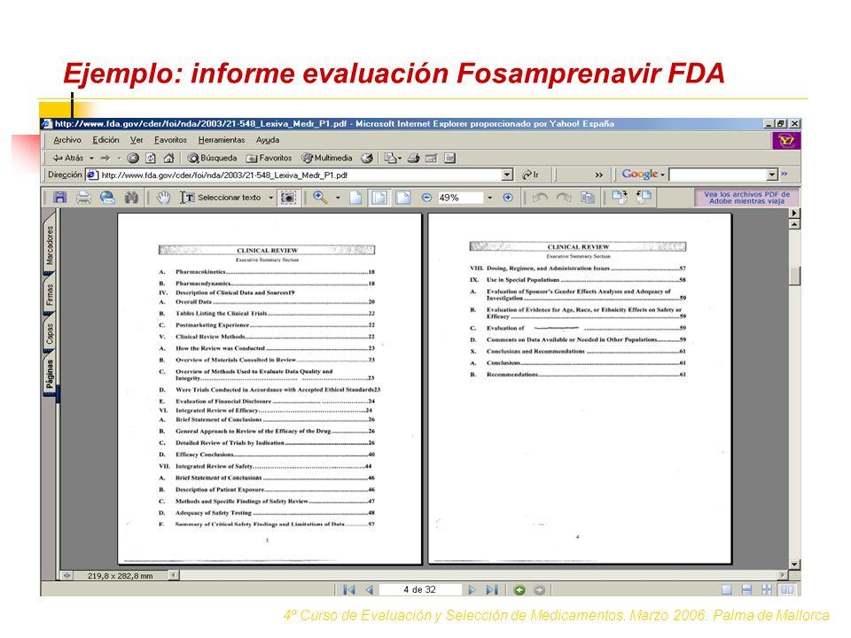 DEATHS EMEA FDA Presentación de resultados (Adalimumab) 4º Curso de Evaluación y Selección de Medicamentos.