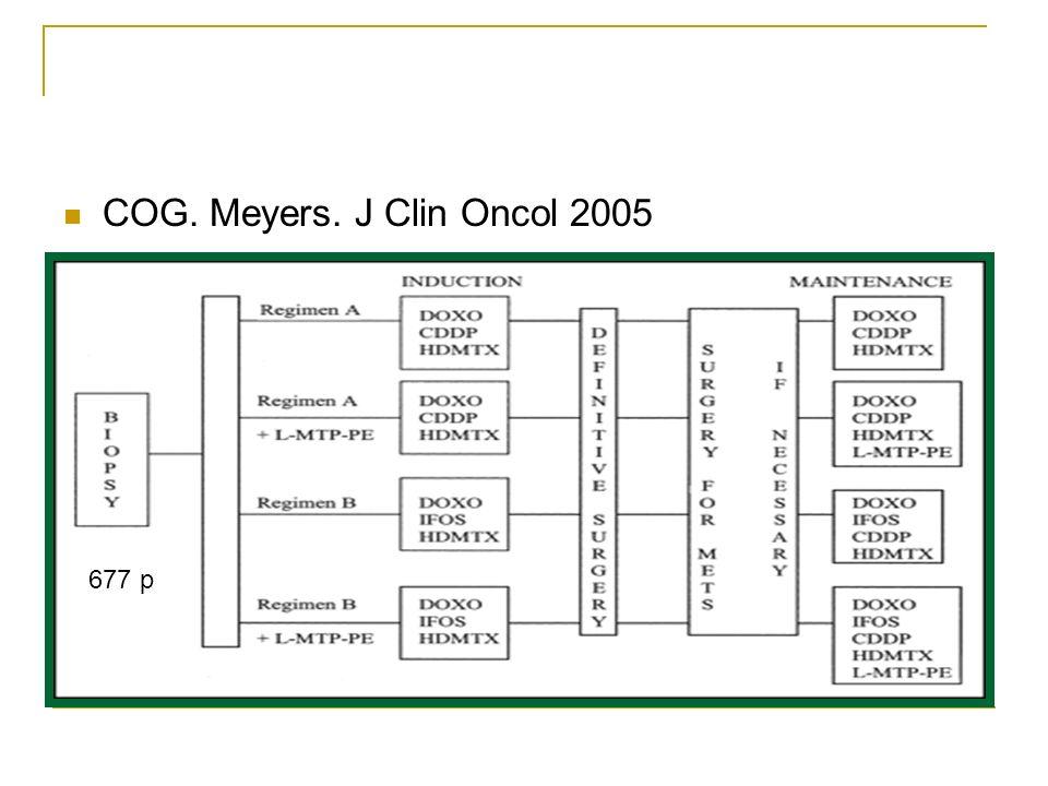 COG. Meyers. J Clin Oncol 2005 677 p