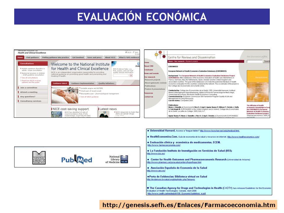 http://genesis.sefh.es/Enlaces/Farmacoeconomia.htm