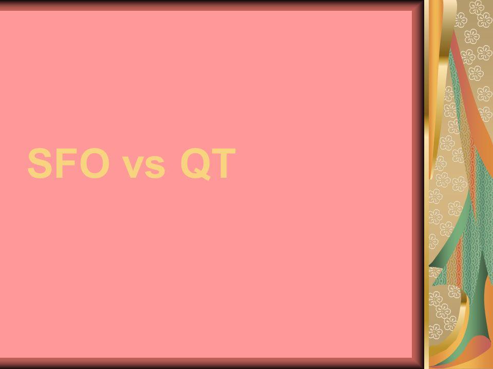 SFO vs QT