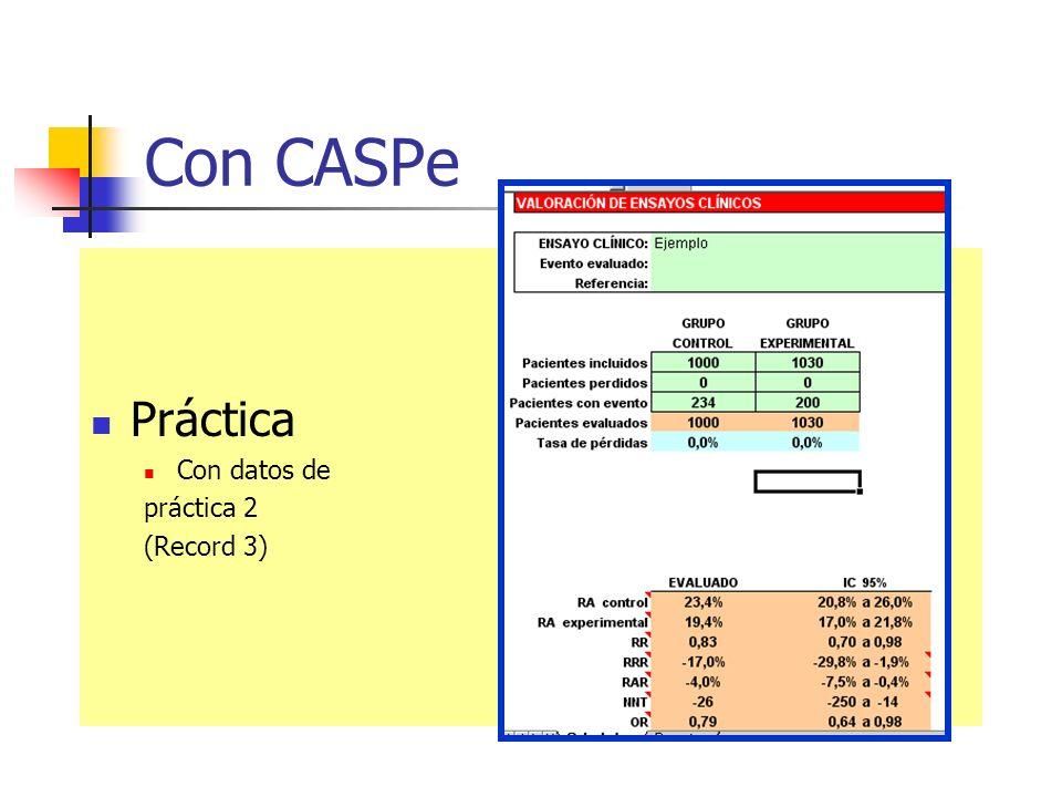 Con CASPe Práctica Con datos de práctica 2 (Record 3)
