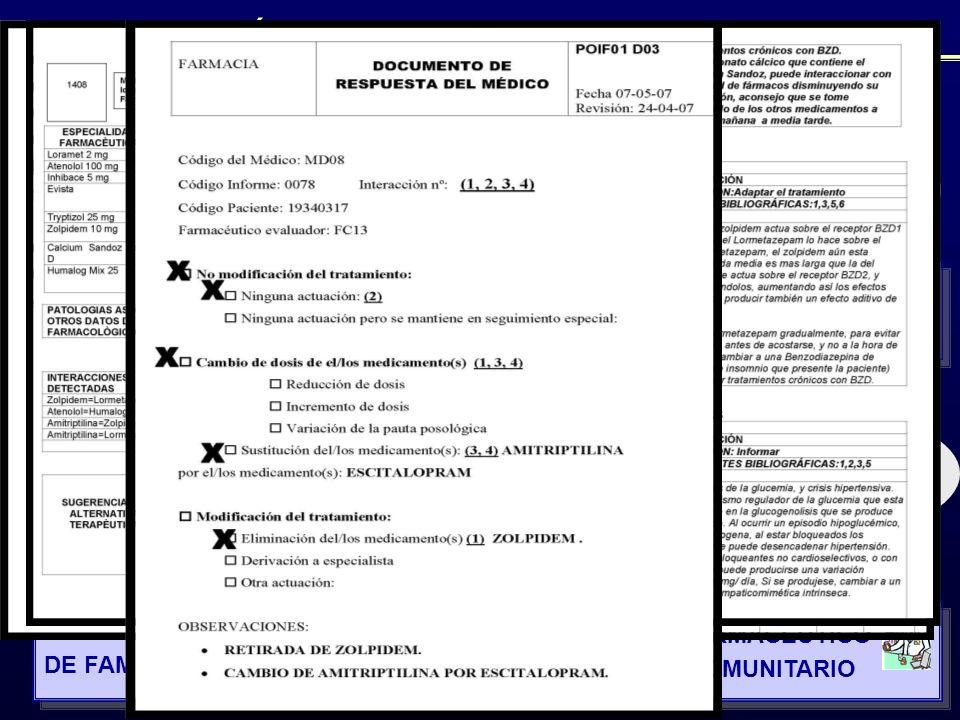 1 Selección de pacientes 4 Estudio, detección y valoración IF 6 Citación del paciente 7 Actuación médica 2 F.TLT.A 3 FP 4 IFC 5 IFC 8 RMF 9 RMF 1 F. T