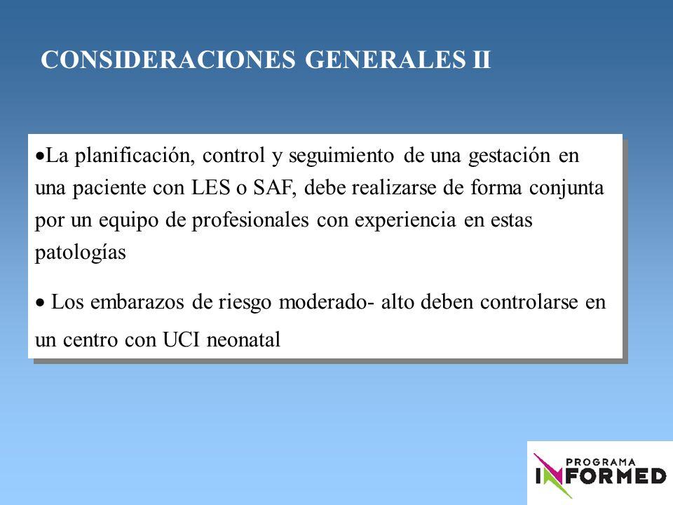 PLANIFICACIÓN FAMILIAR Y EMBARAZO EN: LUPUS ERITEMATOSO SISTÉMICO SÍNDROME ANTIFOSFOLIPÍDICO Responsable de la Guía: Dr.