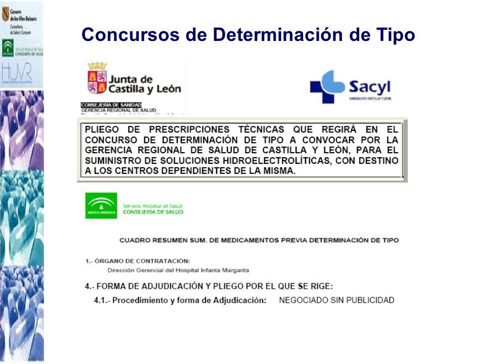 Concursos de Determinación de Tipo ¡¡Ya no son posibles con la nueva normativa!!