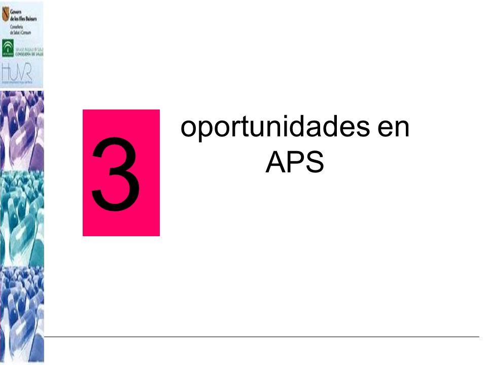 oportunidades en APS 3