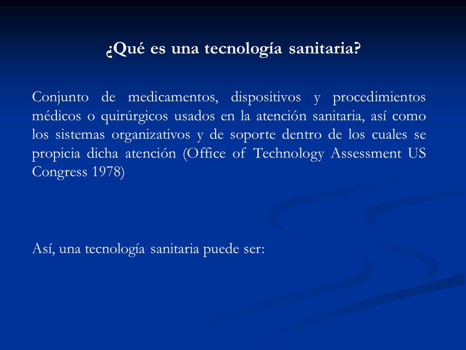¿Qué nuevas tecnologías debe financiar el sistema público? Volviendo a nuestro ejemplo: Programa de cesación tabáquica: 430 libras esterlinas por AVAC