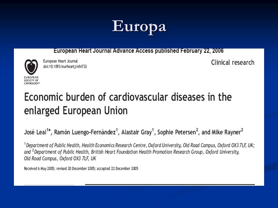 Enfermedades isquémicas del corazón Fuente: MSC y elaboración propia