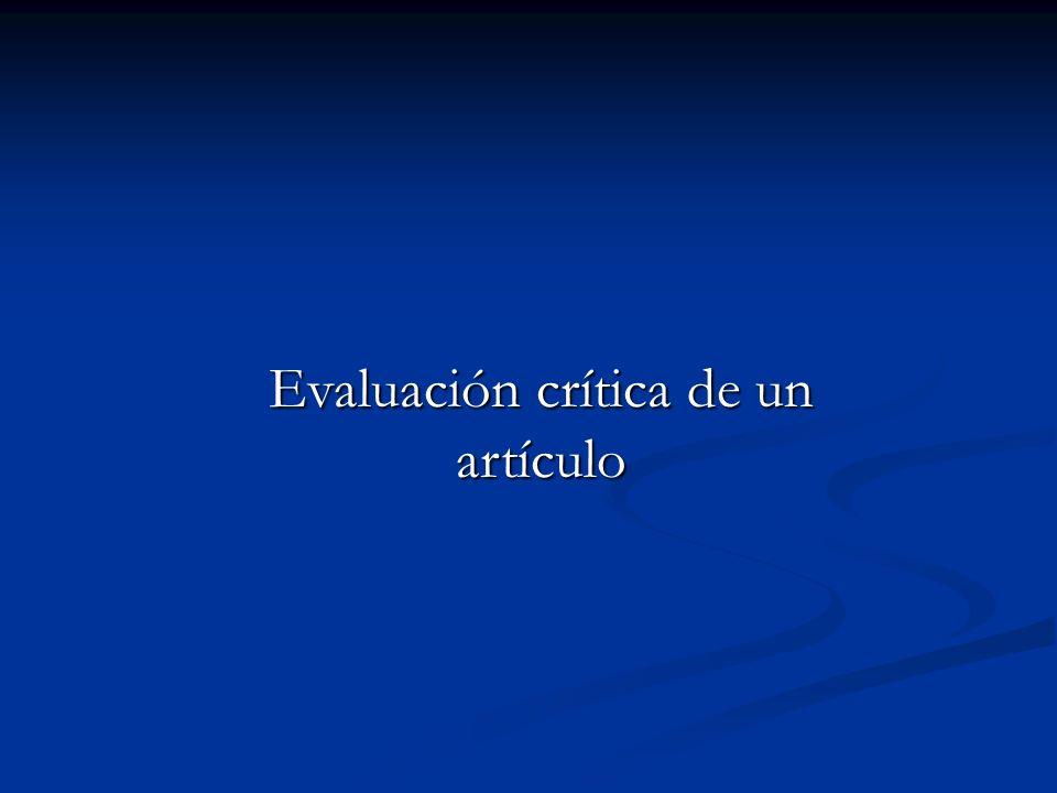 Estandarización de métodos ¿Es posible en España?